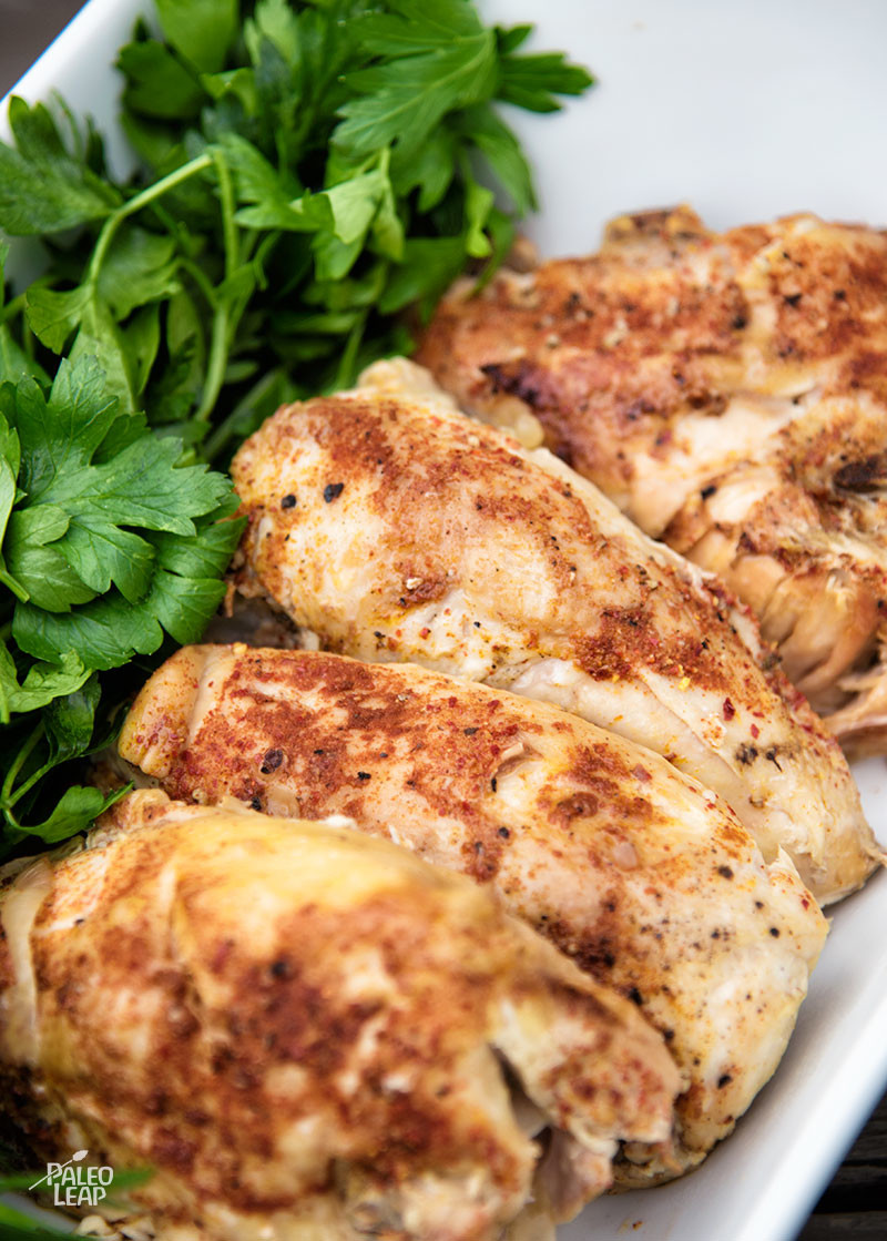 Simple Slow Cooker Chicken Paleo Leap