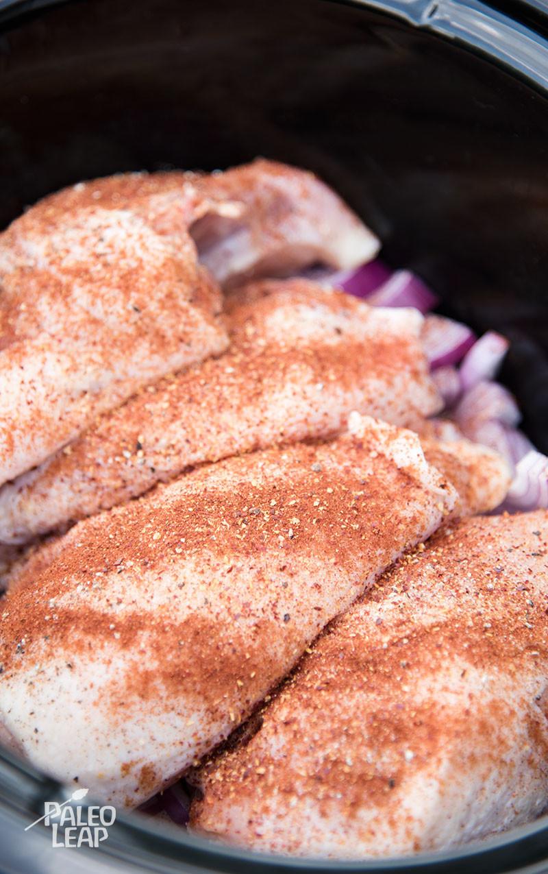 Simple Slow Cooker Chicken preparation