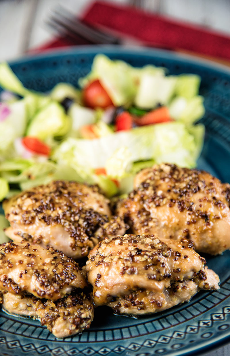 Apple-Mustard Chicken