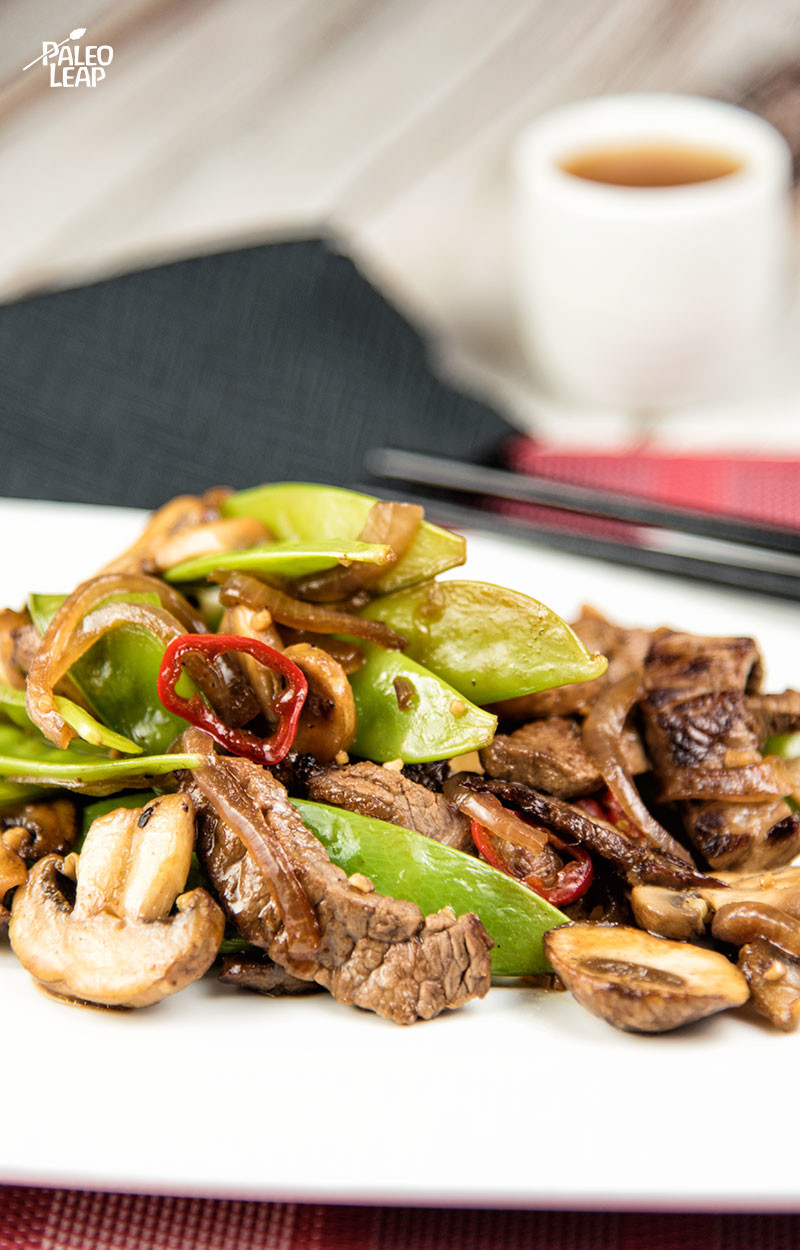 Simple Asian Beef Stir Fry Paleo Leap