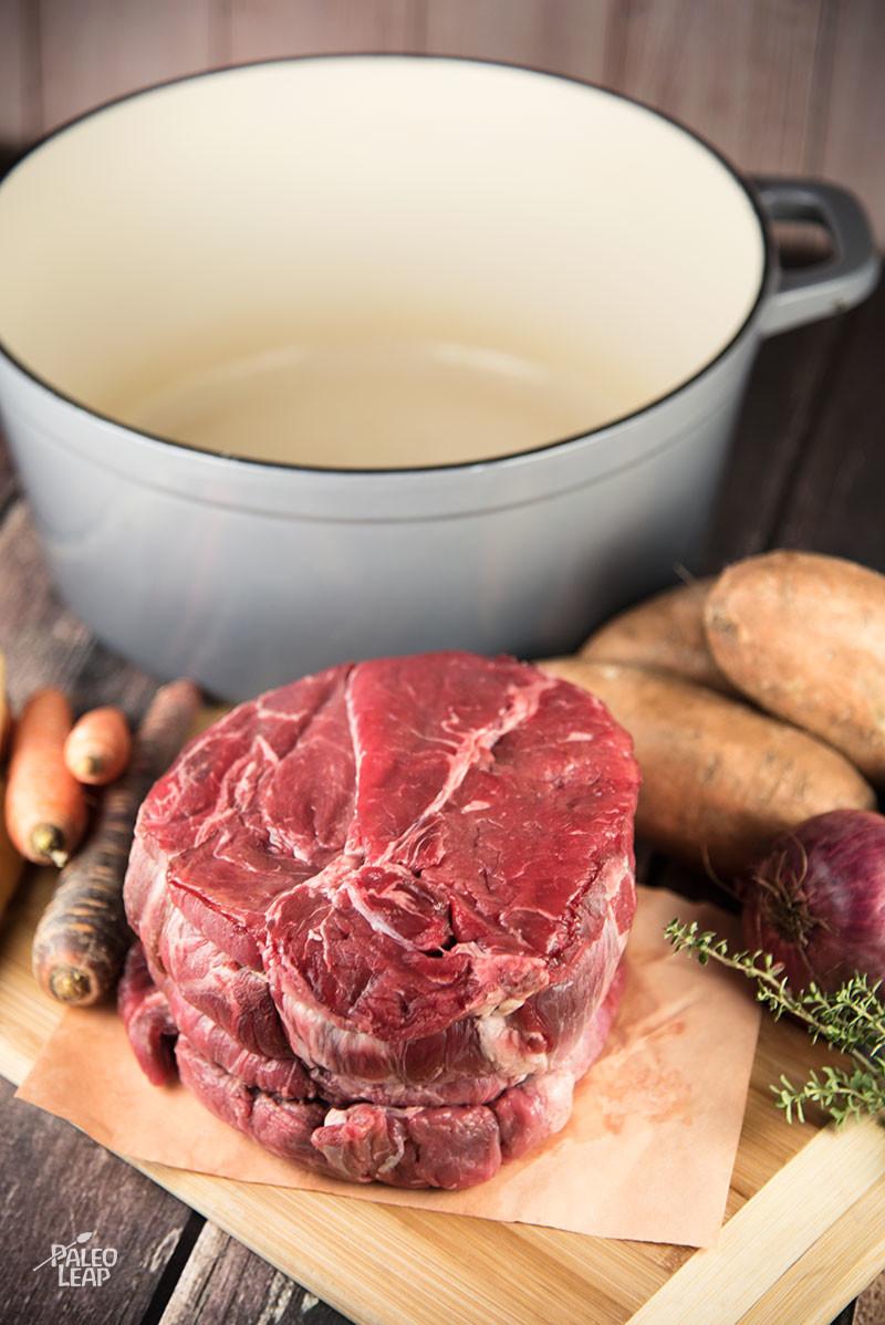 Beef Roast preparation