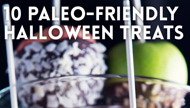 Paleo-friendly Halloween treats