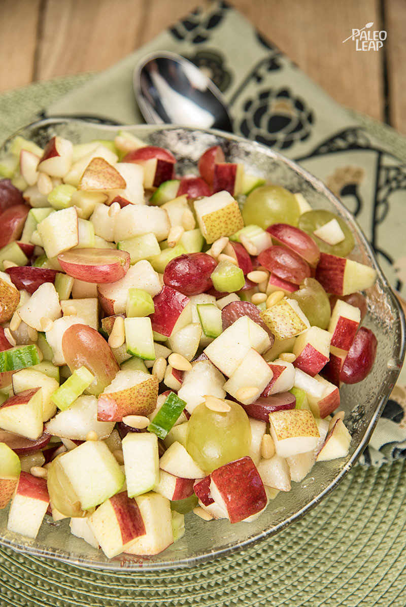 Apple And Grape Salad Paleo Leap
