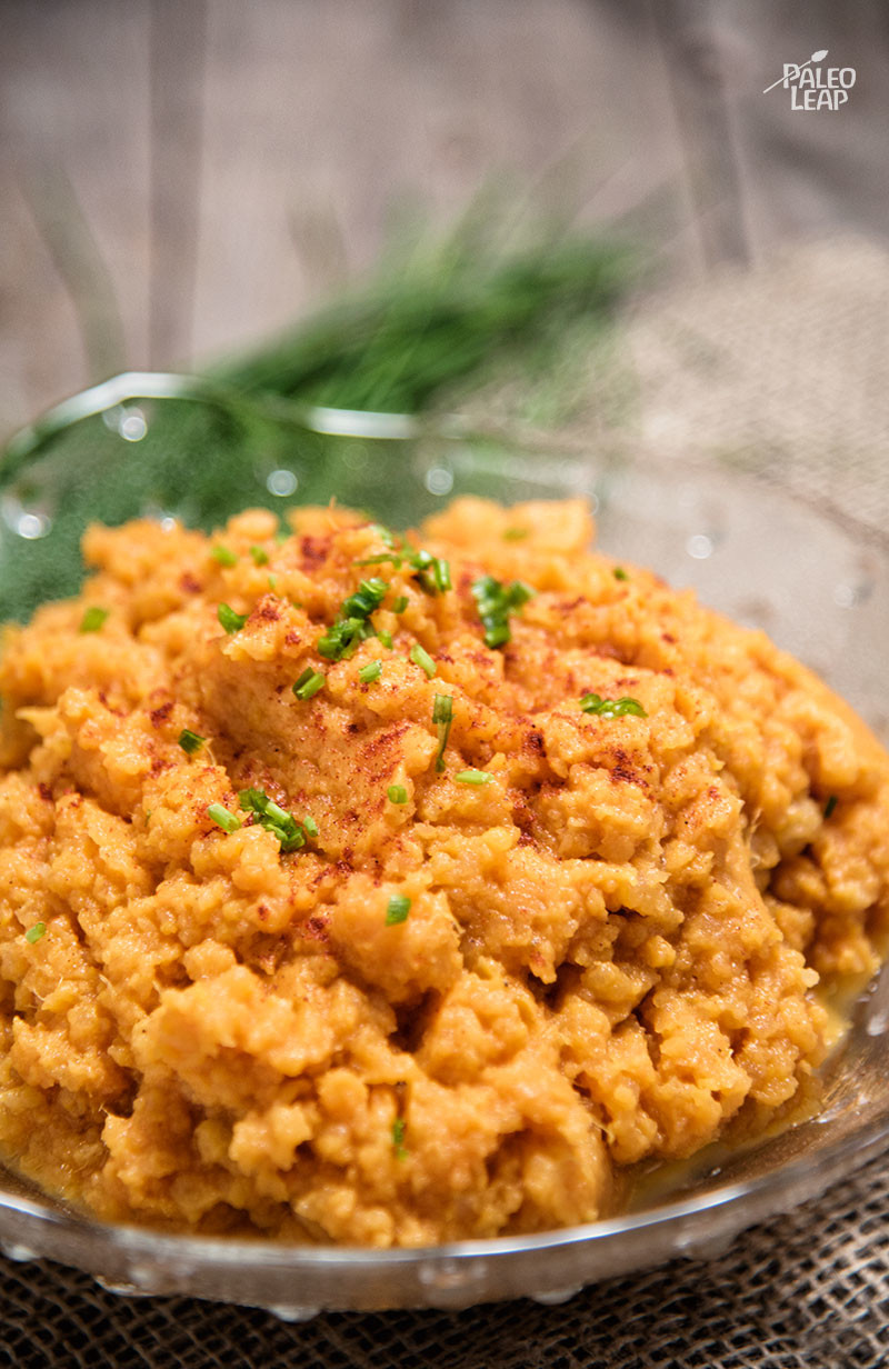 Sweet Potato and Rutabaga Mash