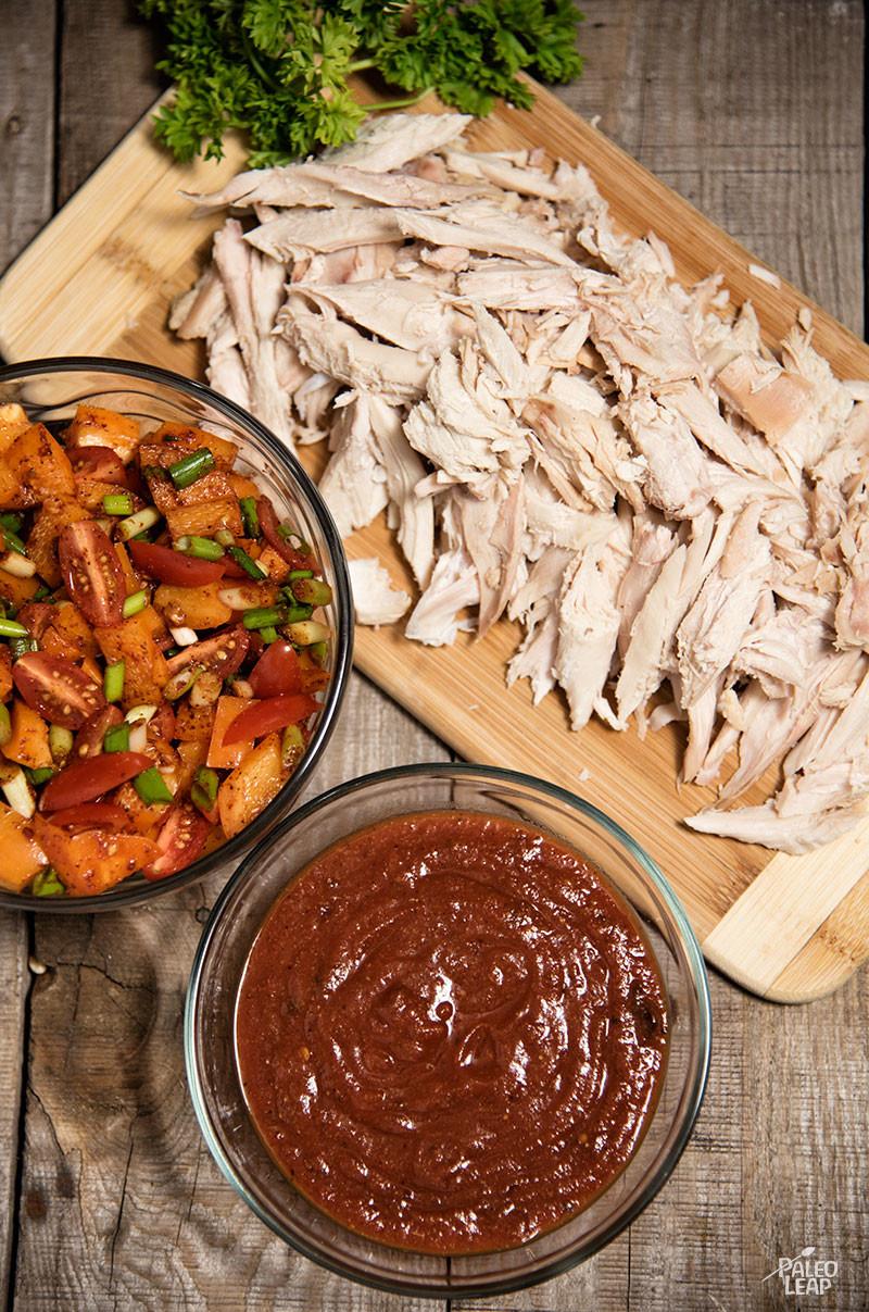 Turkey skillet preparation