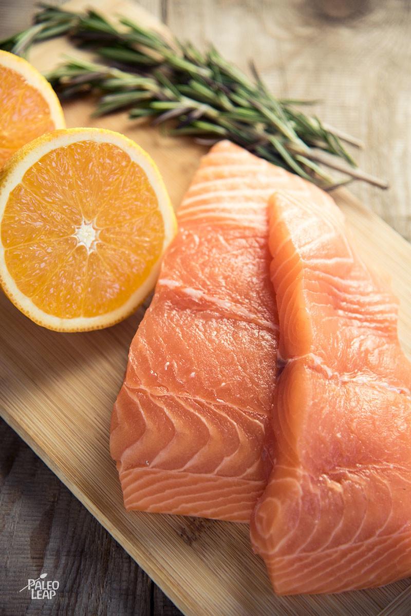 Seared Salmon preparation