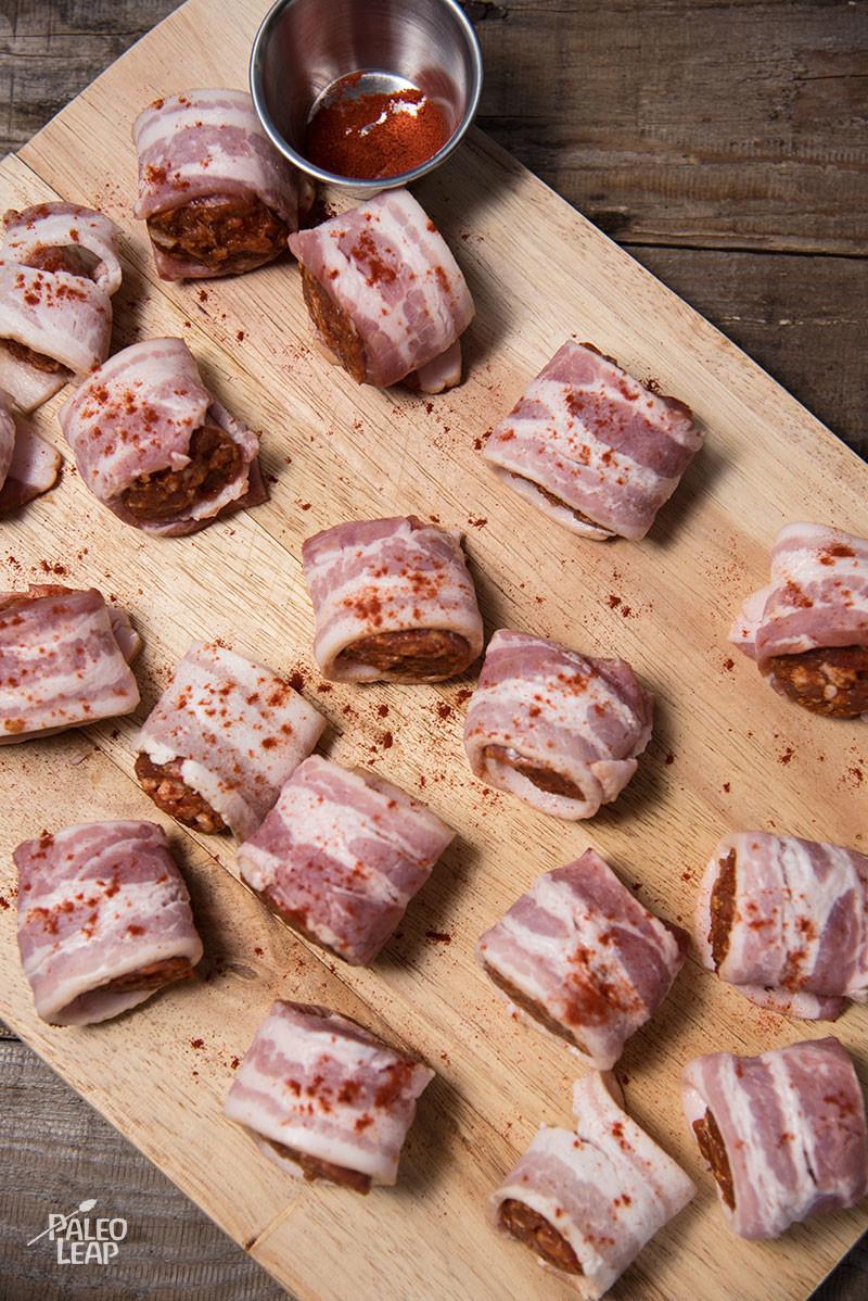 Sausage Bites preparation
