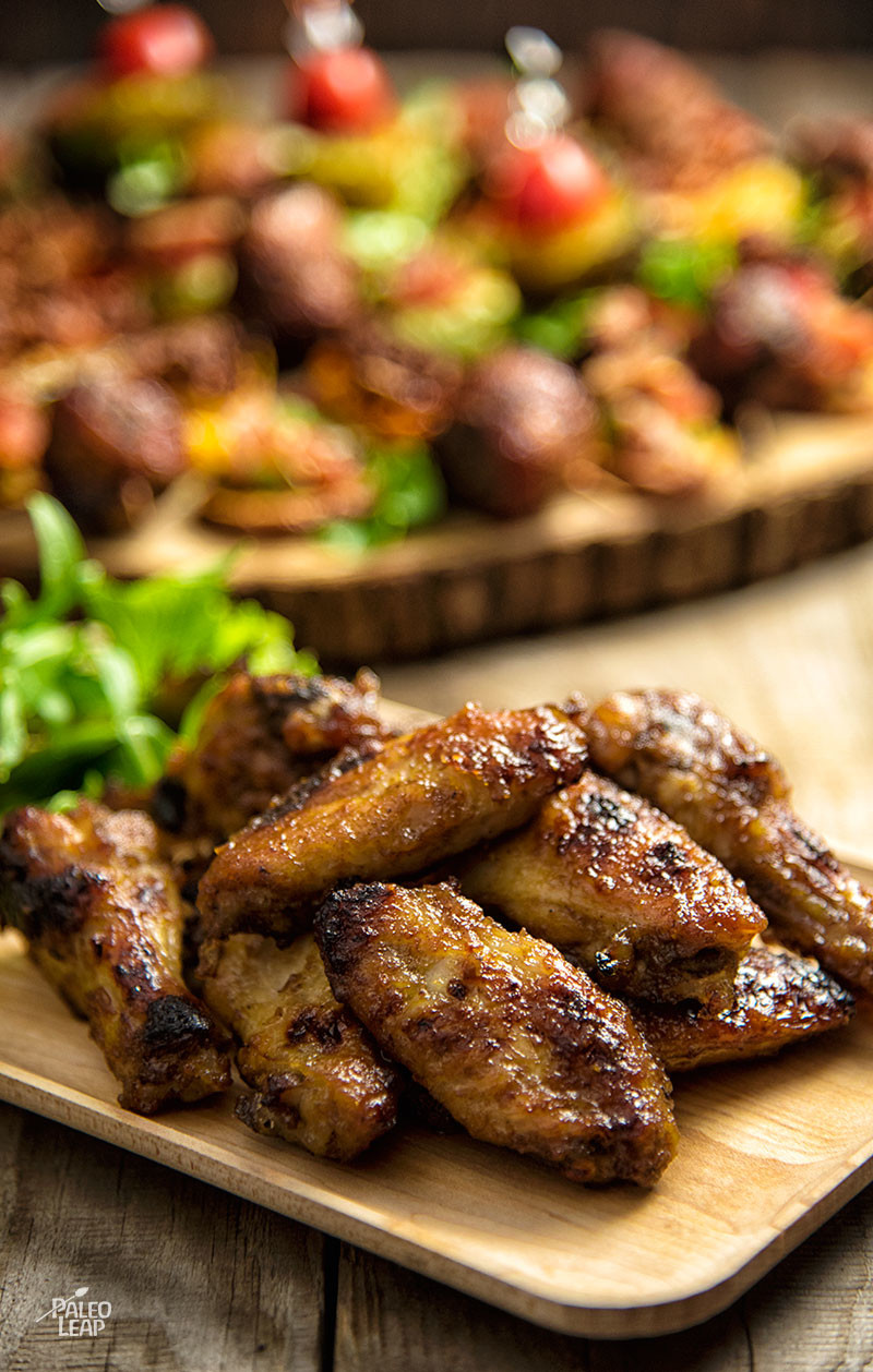 Jerk-Style Chicken Wings
