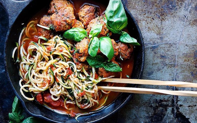 My Moroccan Spaghetti Meatballs