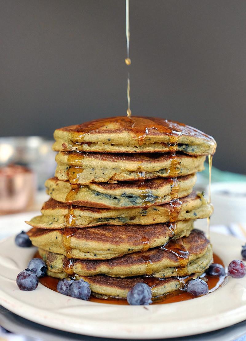 Paleo Blueberry Pancake