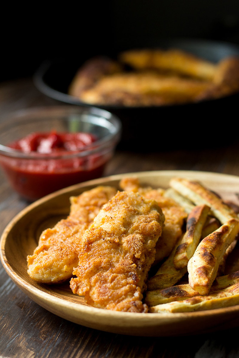 Crispy Paleo Chicken Tenders