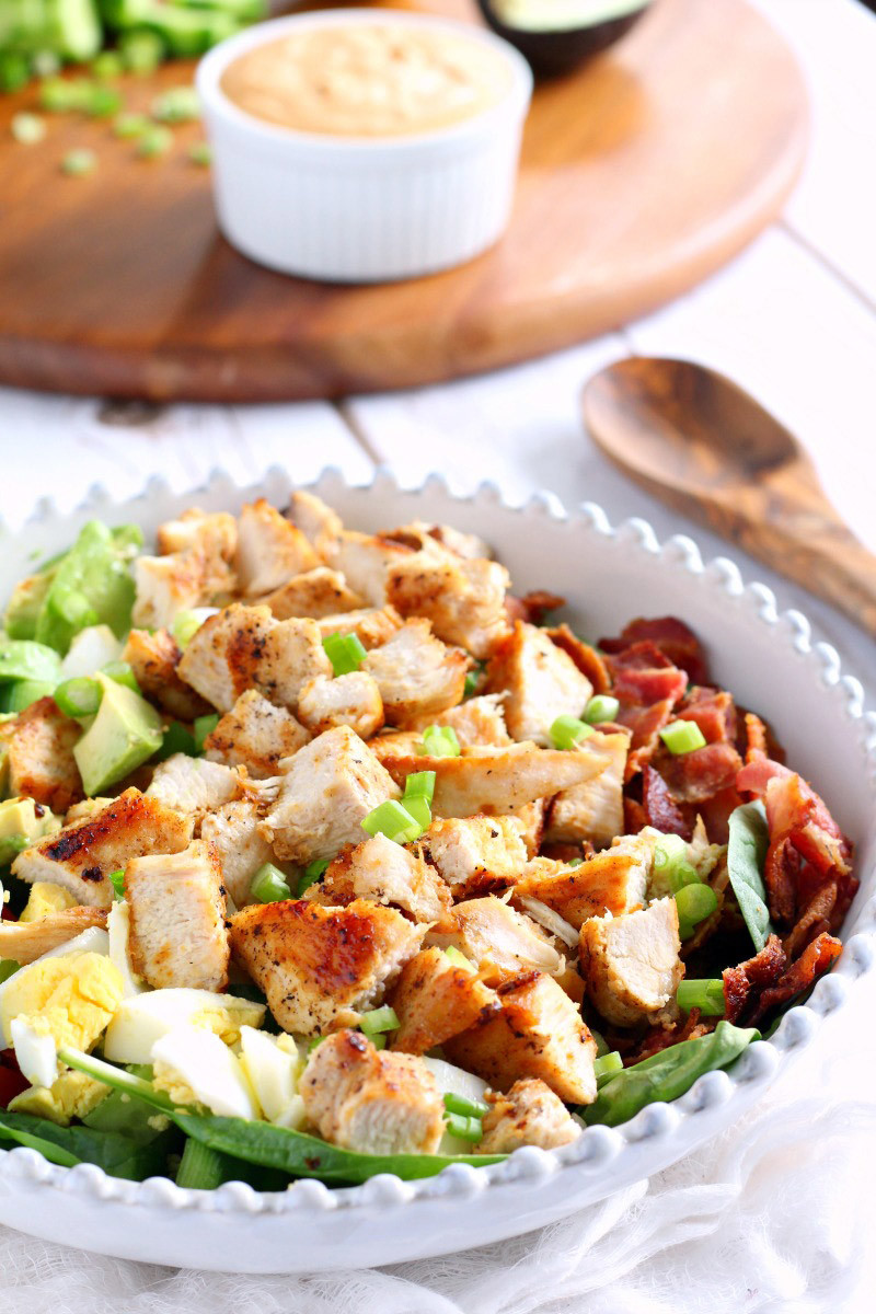 Paleo Chicken Cobb Salad