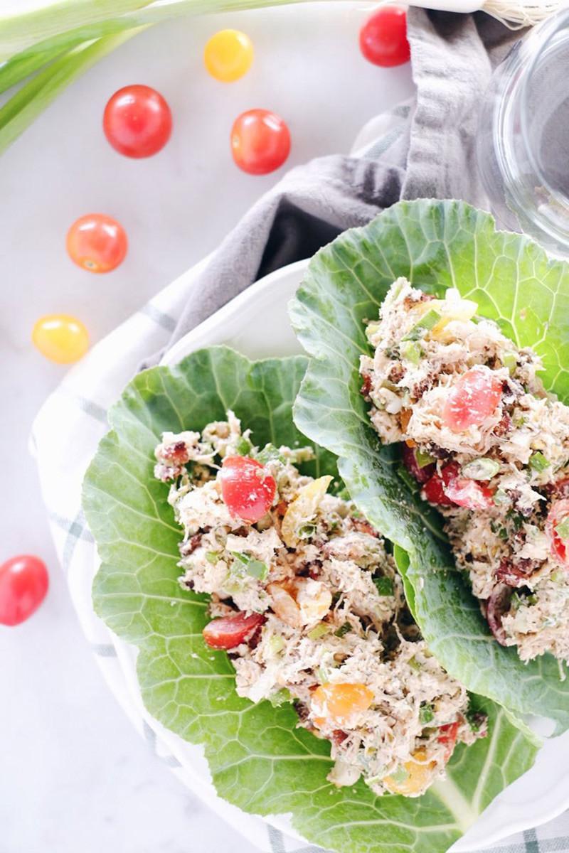 Quick + Easy BLT Chicken Salad