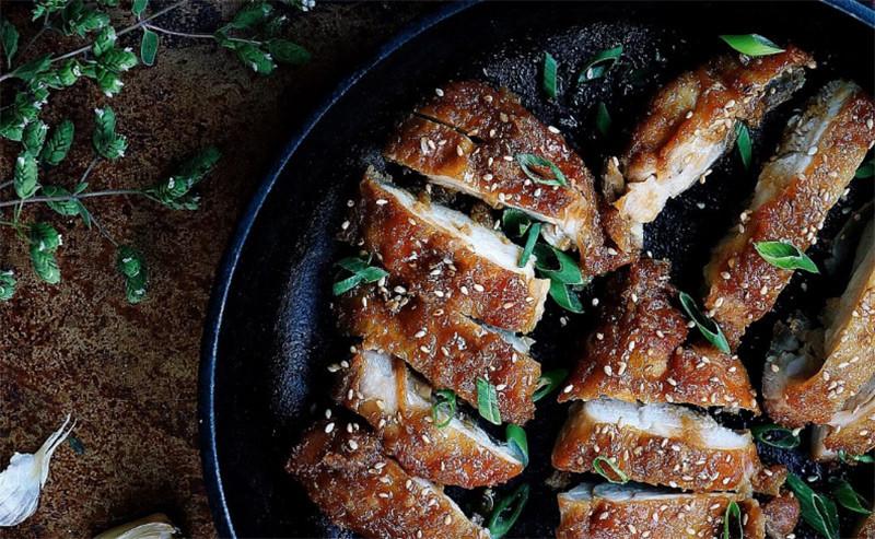 Crispy Teriyaki Chicken