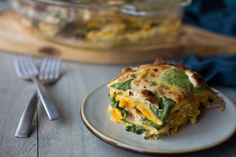 Dairy-Free Butternut Squash Lasagna