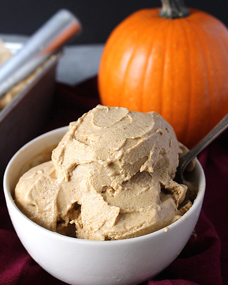 Paleo Pumpkin Ice Cream