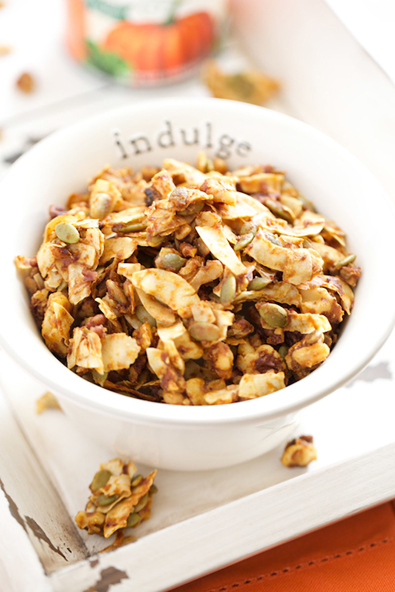 Double Pumpkin Pie Granola