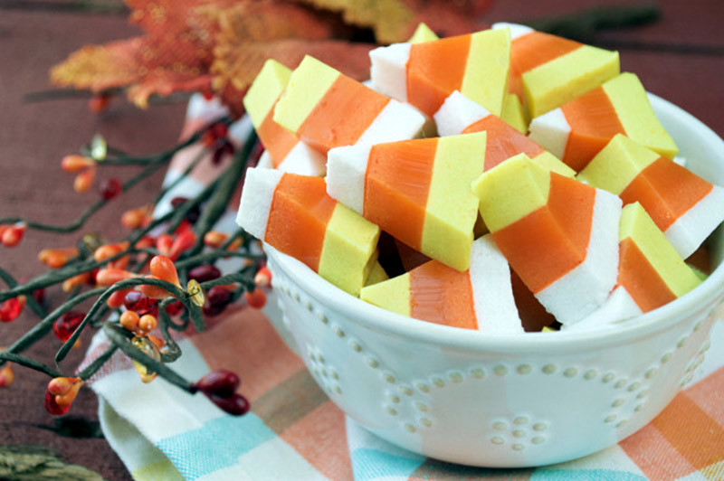 Paleo Candy Corn Gummies