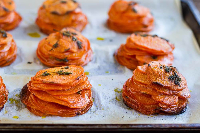 Sweet Potato Pomme Anna