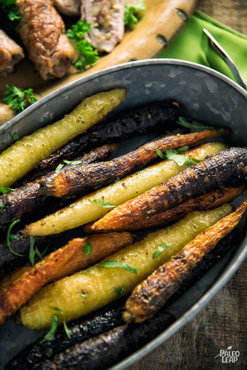 Simple Herb-Seasoned Carrots