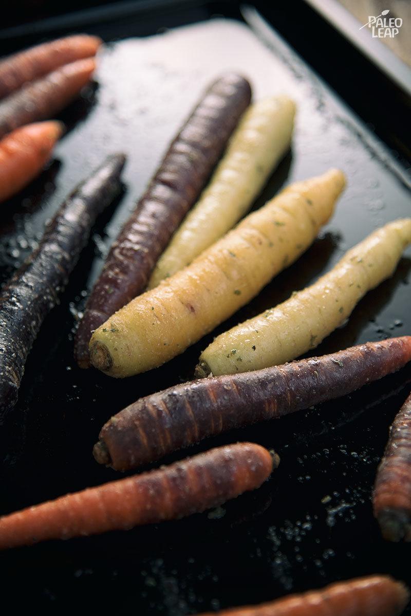 Herb Carrot preparation