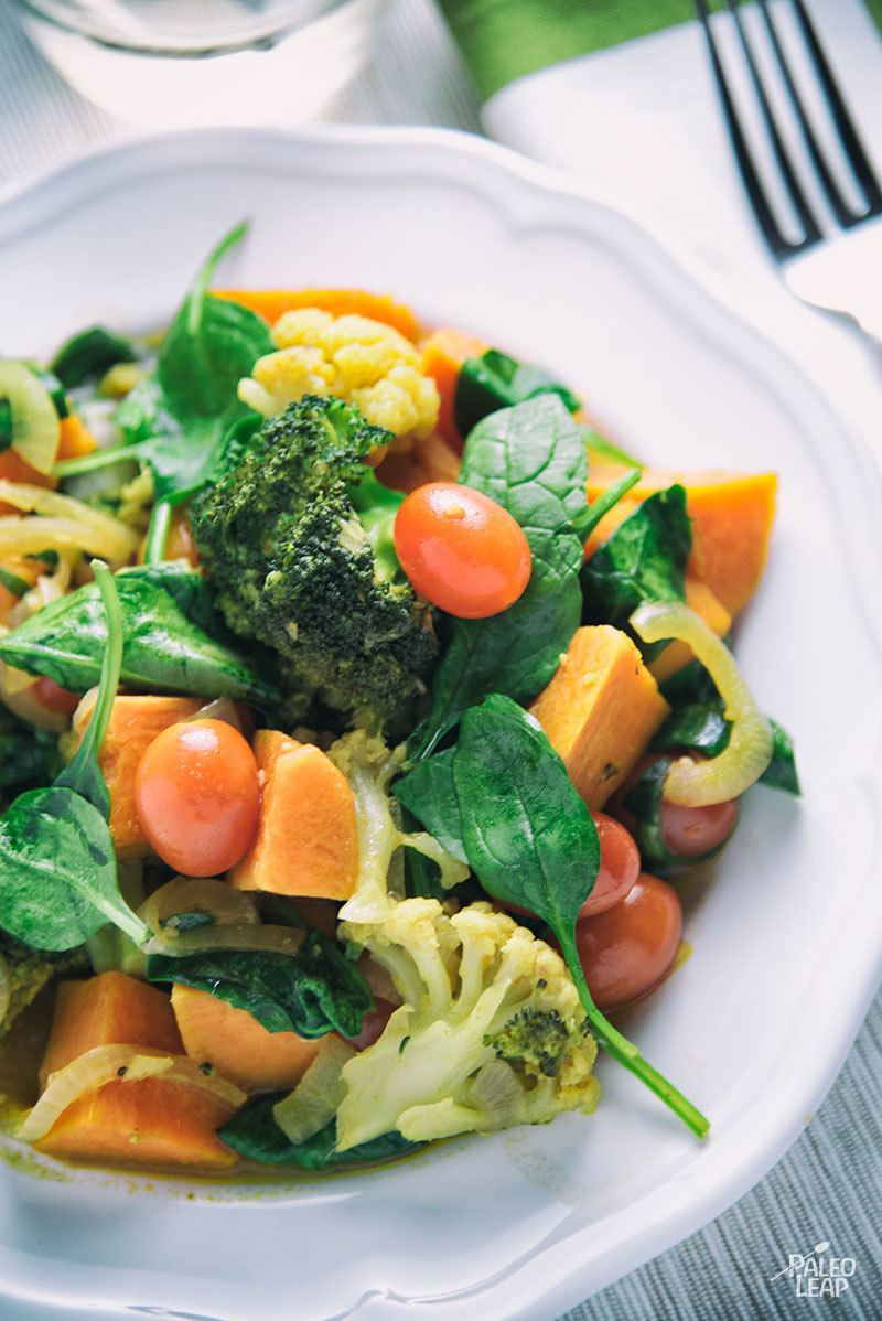 Hearty Vegetable Curry
