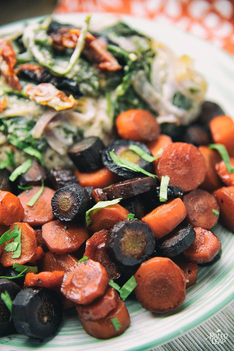 Spicy Honey Roasted Carrots Recipe