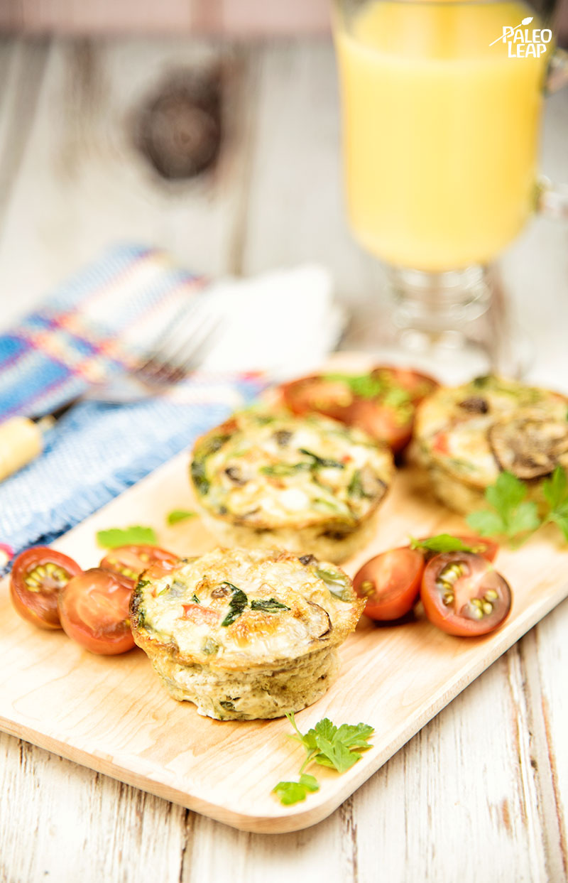 Egg and Vegetable Muffins