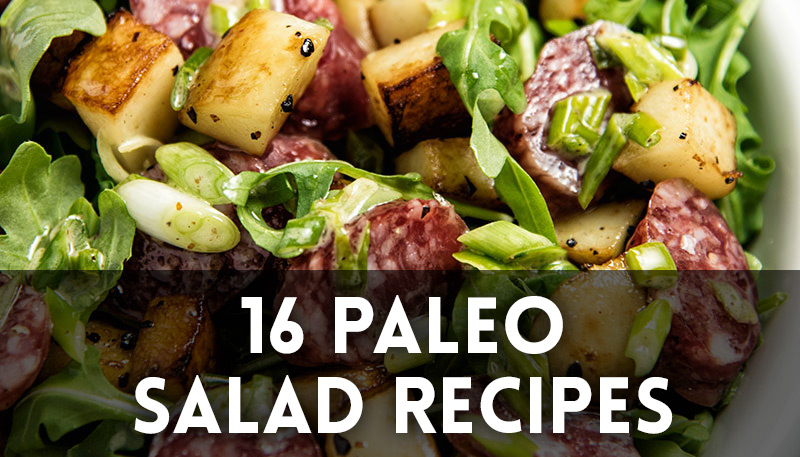 16 Paleo Salad Recipes