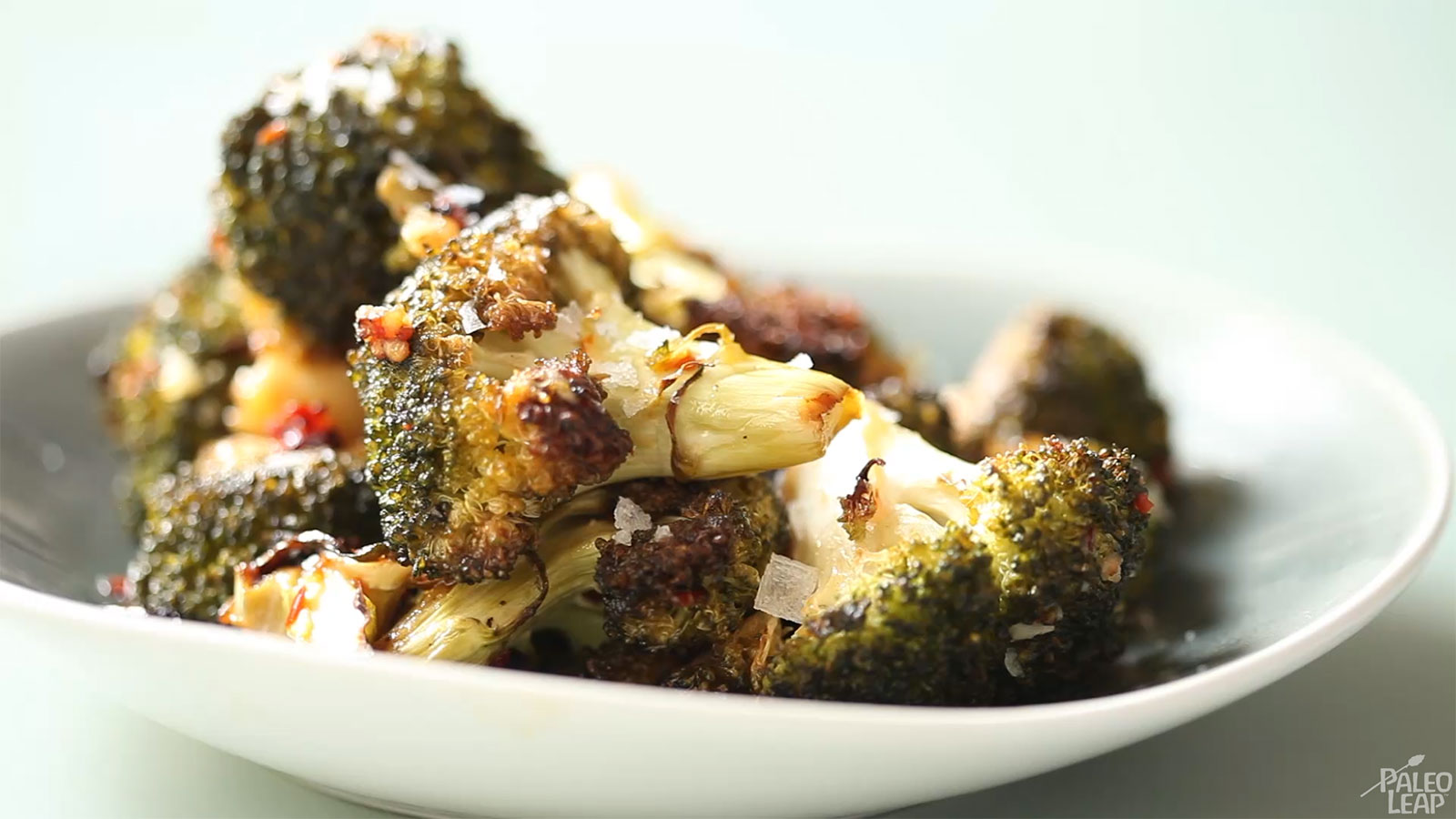 Chili and Garlic Roasted Broccoli