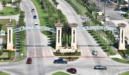 skyview of Champions Gate