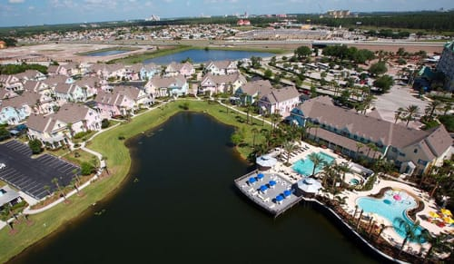 skyview of Kissimmee