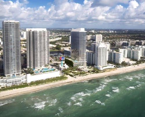 skyview of Hallandale Beach