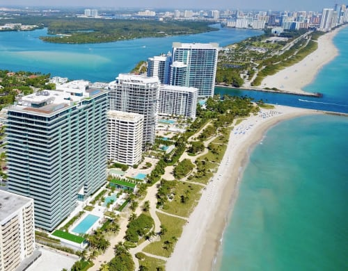 skyview of Bal Harbour