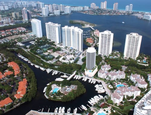 skyview of Aventura