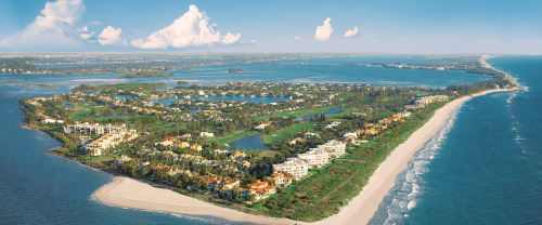 skyview of Hutchinson Island