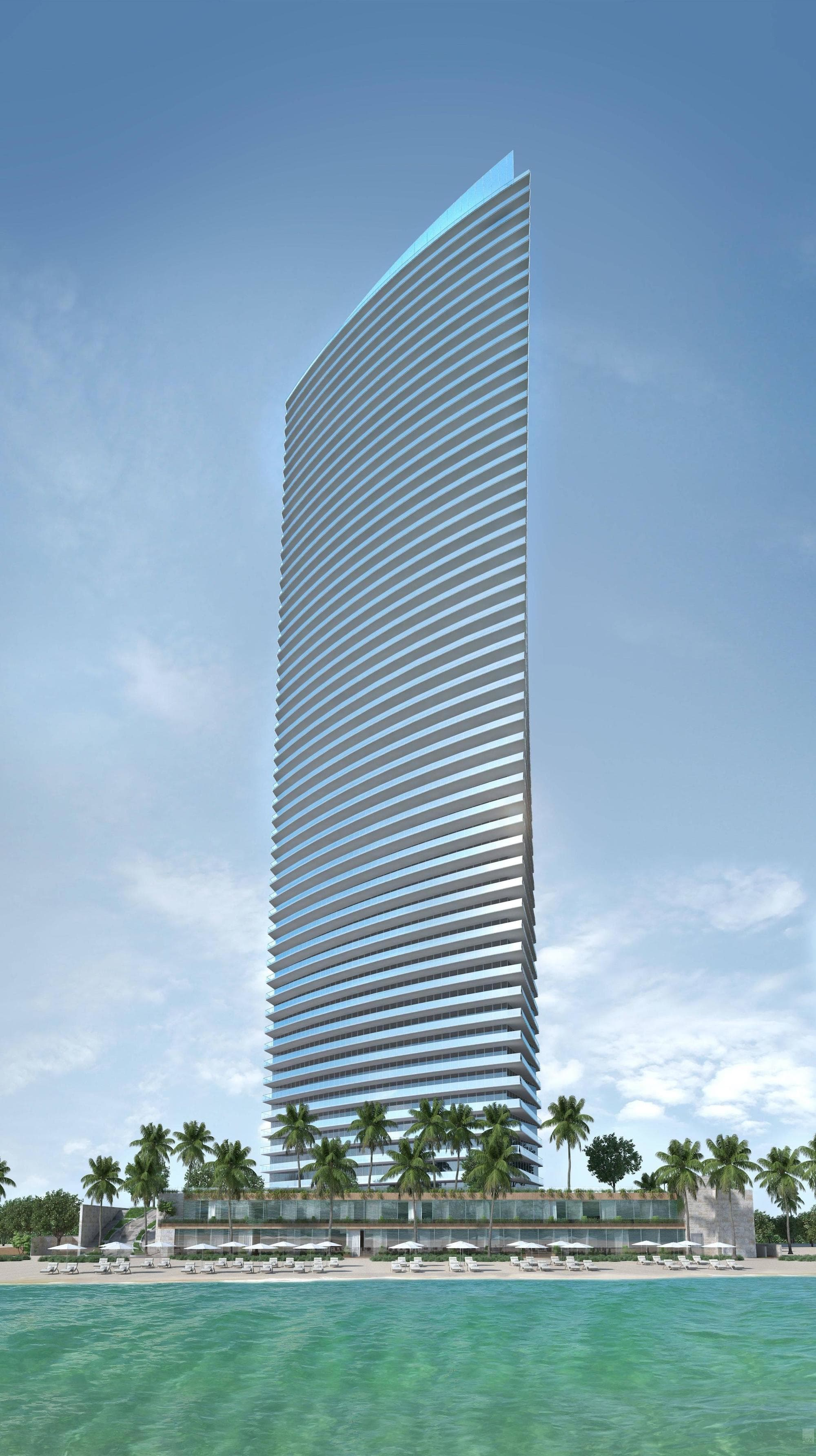 skyview image of Armani Residences