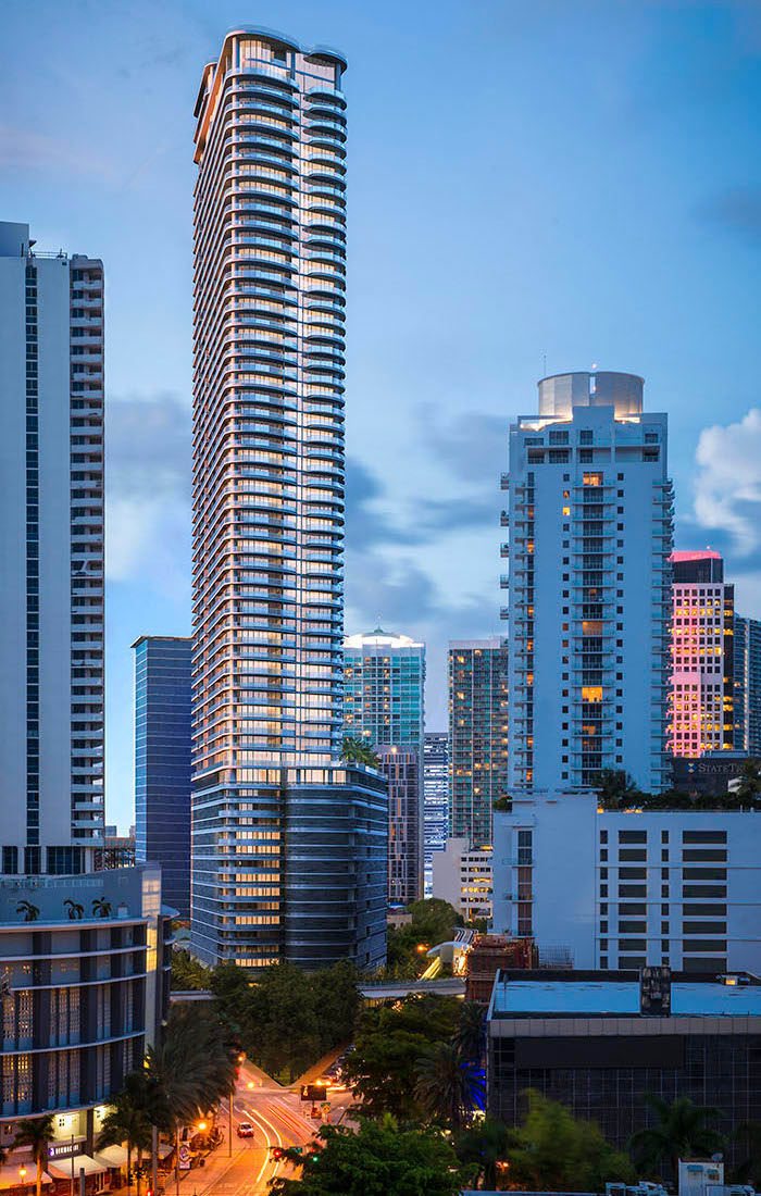 skyview image of FlatIron Brickell