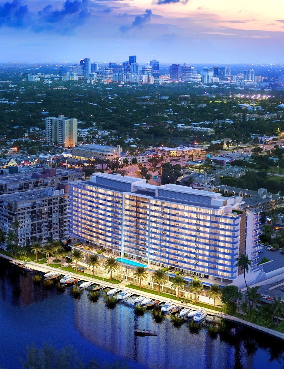 skyview image of Riva Fort Lauderdale