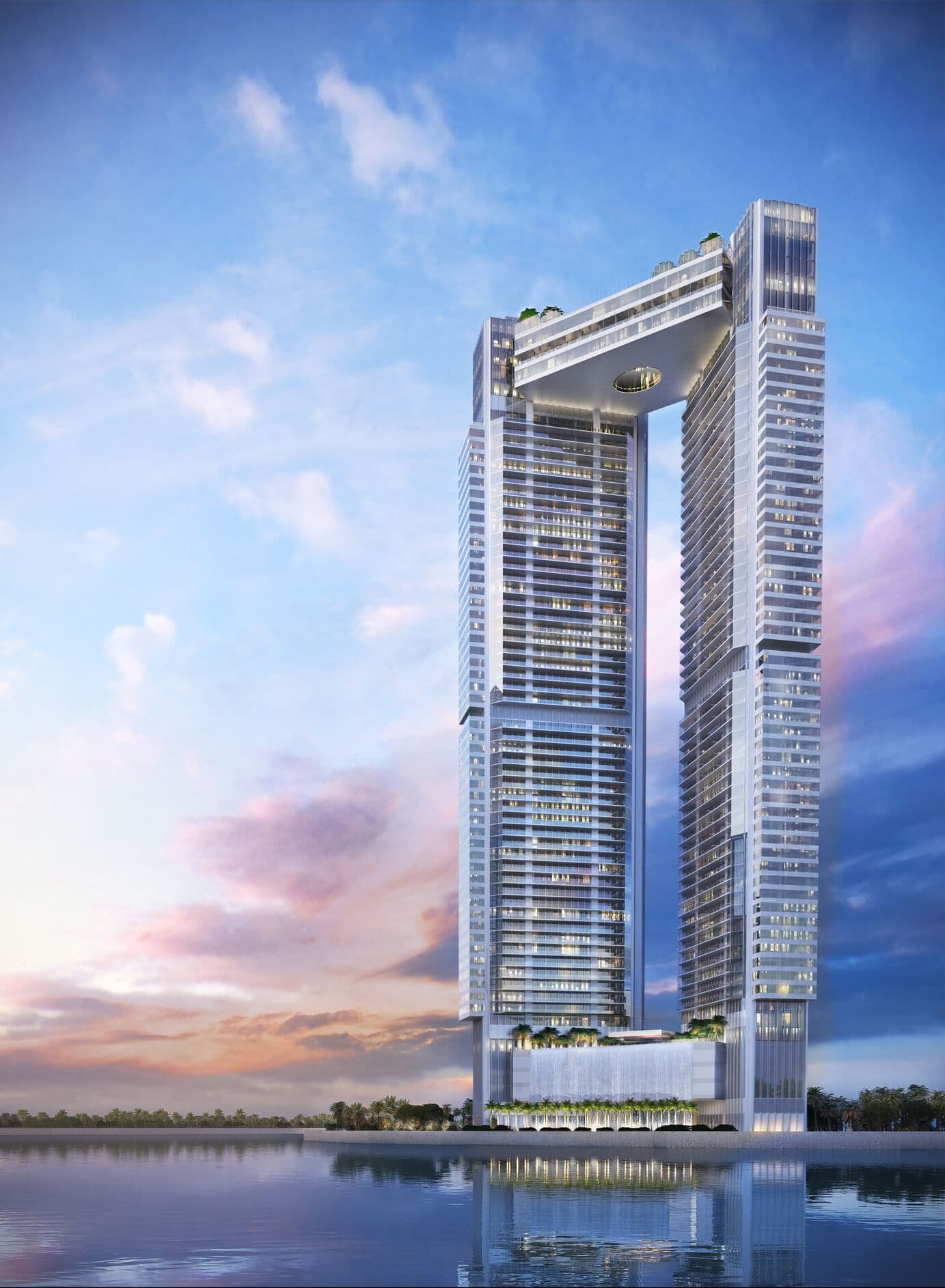 skyview image of One River Point