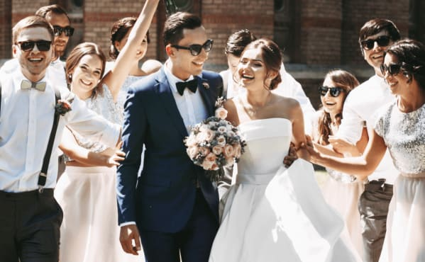 婚礼スナップ