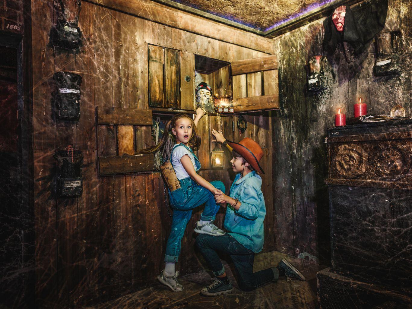 Квест В поисках сокровищ: Дети