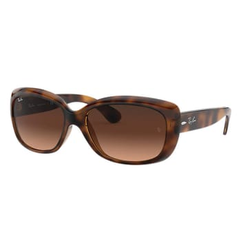 Ray-Ban Jackie Ohh Sunglasses - Tortoise/Pink-Brown Gradient