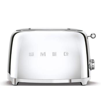 SMEG 50's Retro Style Aesthetic 2-Slice Toaster - Chrome
