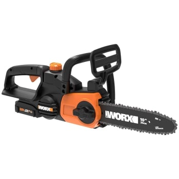 Worx® 20V Power Share 10'' Cordless Chainsaw with Auto-Tension