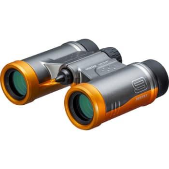 Pentax UD 9 x 21 Compact Binocular - Orange/Grey