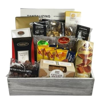 Peter & Paul's Gifts Sweet & Salty Large Gift Basket