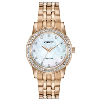 Citizen Silhouette Crystal Ladies Eco-Drive Watch