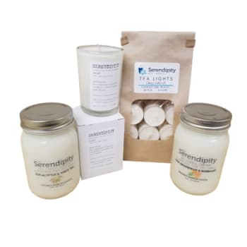 Serendipity Candles Spa Time Bundle