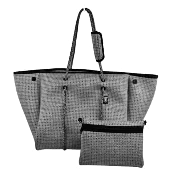Bag and Bougie Cozy Grey Signature Tote